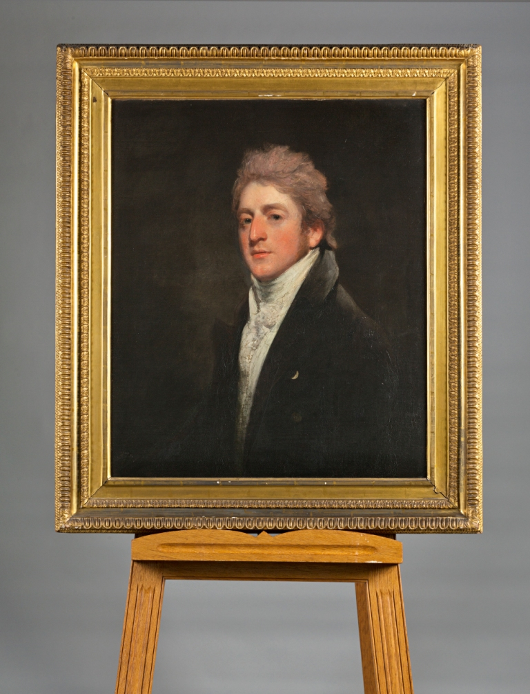 Portrait of Charles Anderson Pelham, later Lord Yarborough, by John Hoppner, R.A. (1758-1810).