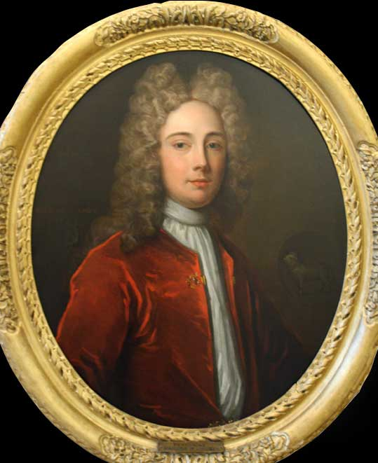 Portrait of Peregrine Bertie, Marquess of Lindsey (1686-1742), by Charles d'Agar (1669–1723).
