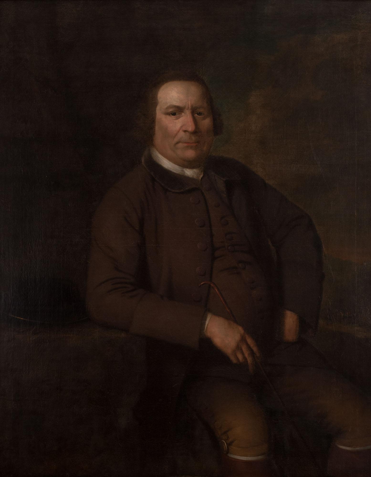 Portrait of a Gentleman, by Frans van der Mijn (1719-1783).