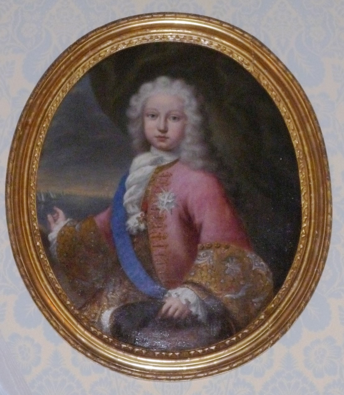 Portrait of a Prince, French School, mid 18th Century.