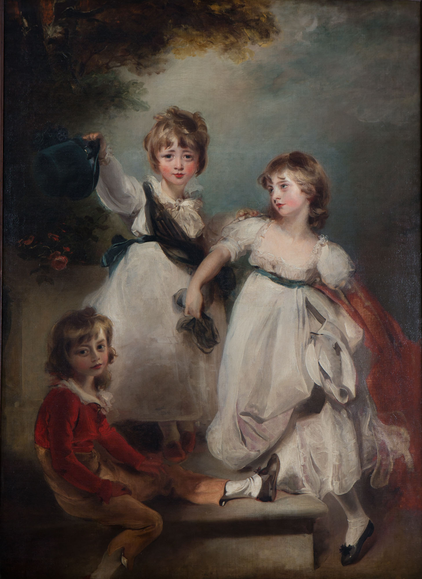 The Three Children of Henry, 1st Marquess of Exeter (1754-1804), by Sir Thomas Lawrence, P.R.A. (1769-1830).