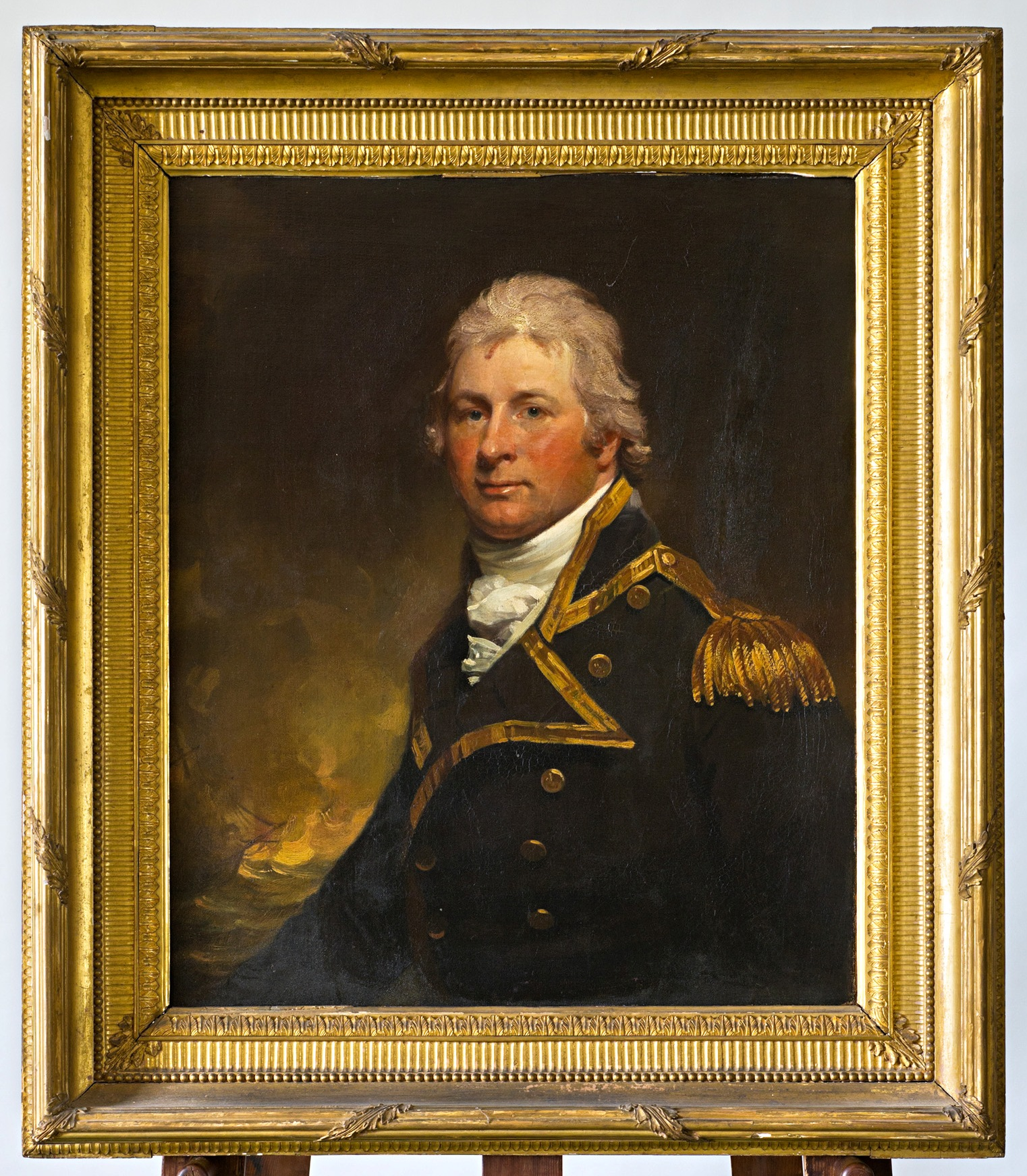 Portrait of Captain William Pierrepont, by Sir Martin Archer Shee, P.R.A. (1769-1850).