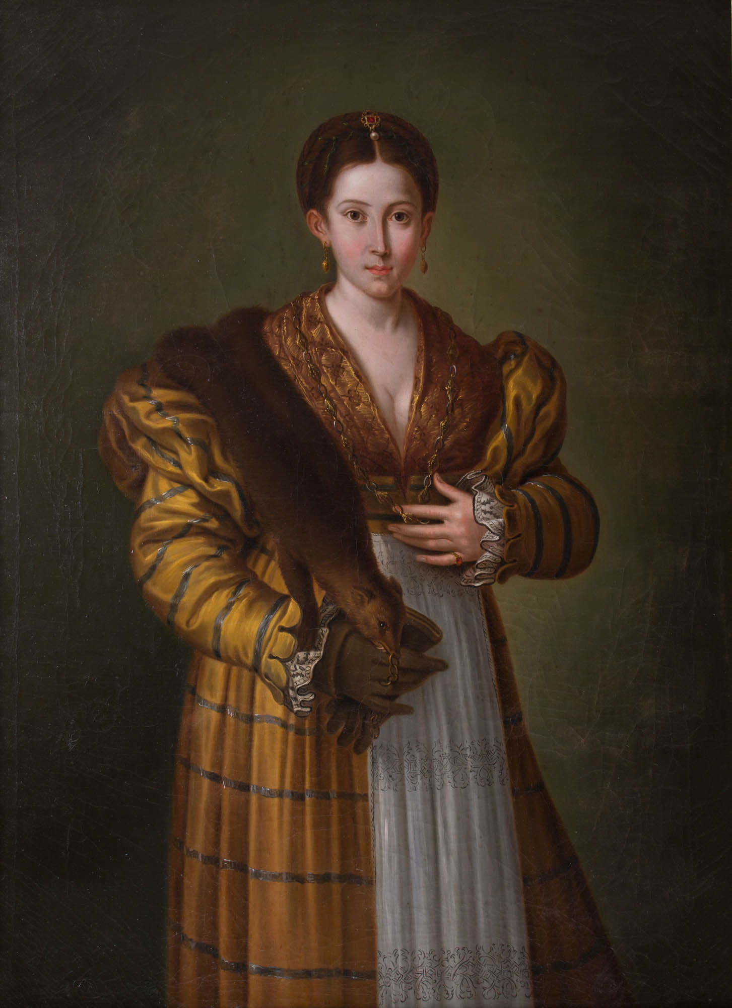 Portrait of Antea,  After Parmigianino.