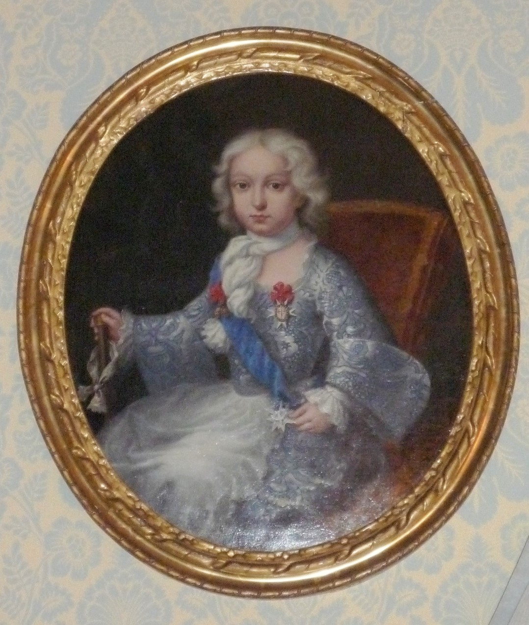 A Portrait of a Prince, French School, mid 18th Century.