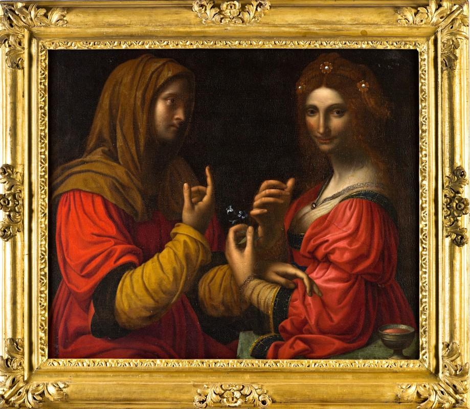 Modesty and Vanity, After Bernardino Luini (c.1482-1532).
