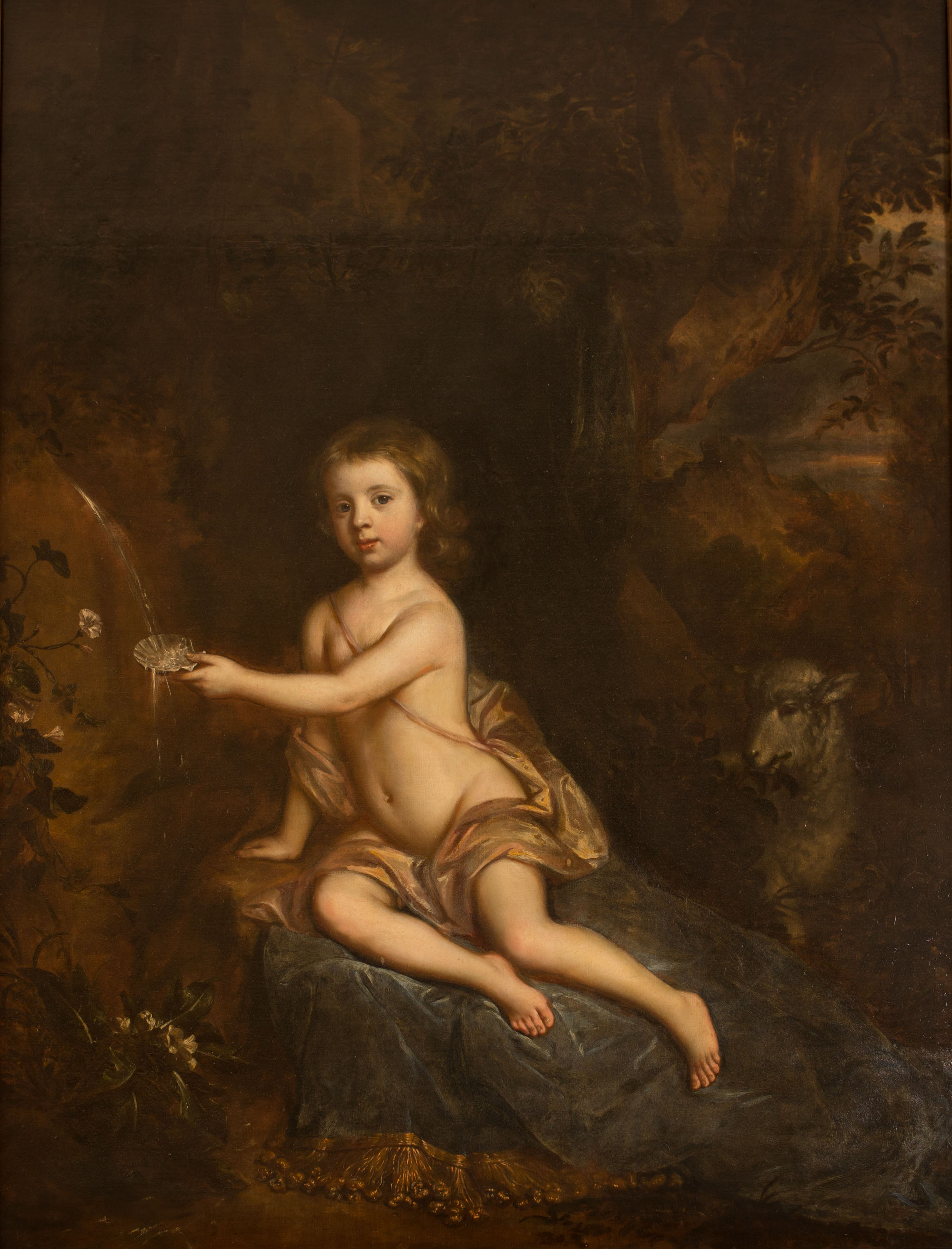 Portrait of Hon. Charles Cecil, as a Boy, by Willem Wissing (1656-1687).