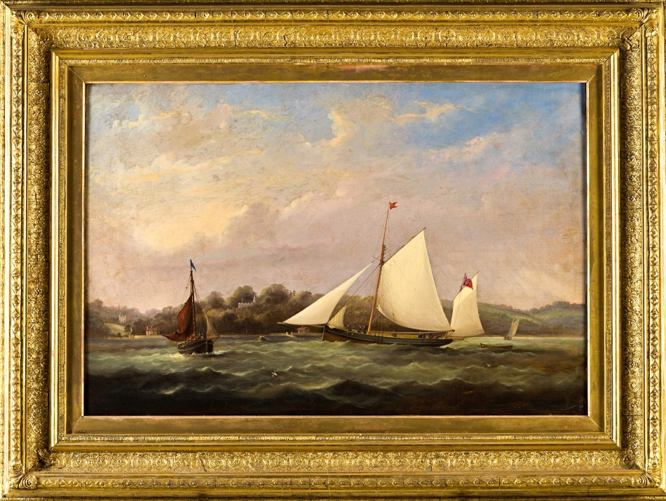The Yawl 'Osprey', by Arthur Wellington Fowles (1815-1883).
