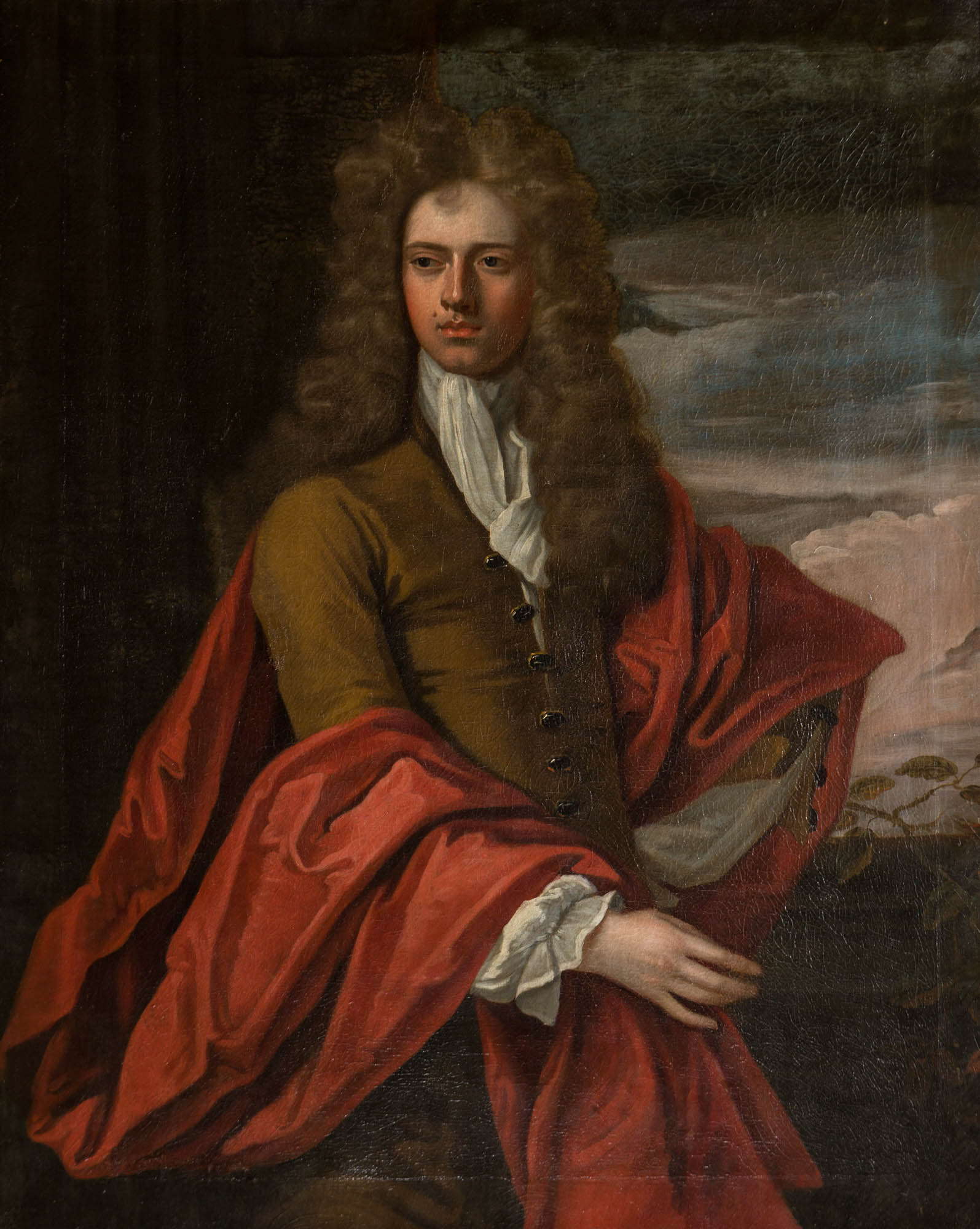 Portrait of John, 5th Earl of Exeter (1648-1700), Studio of Sir Godfrey Kneller (1646-1723).