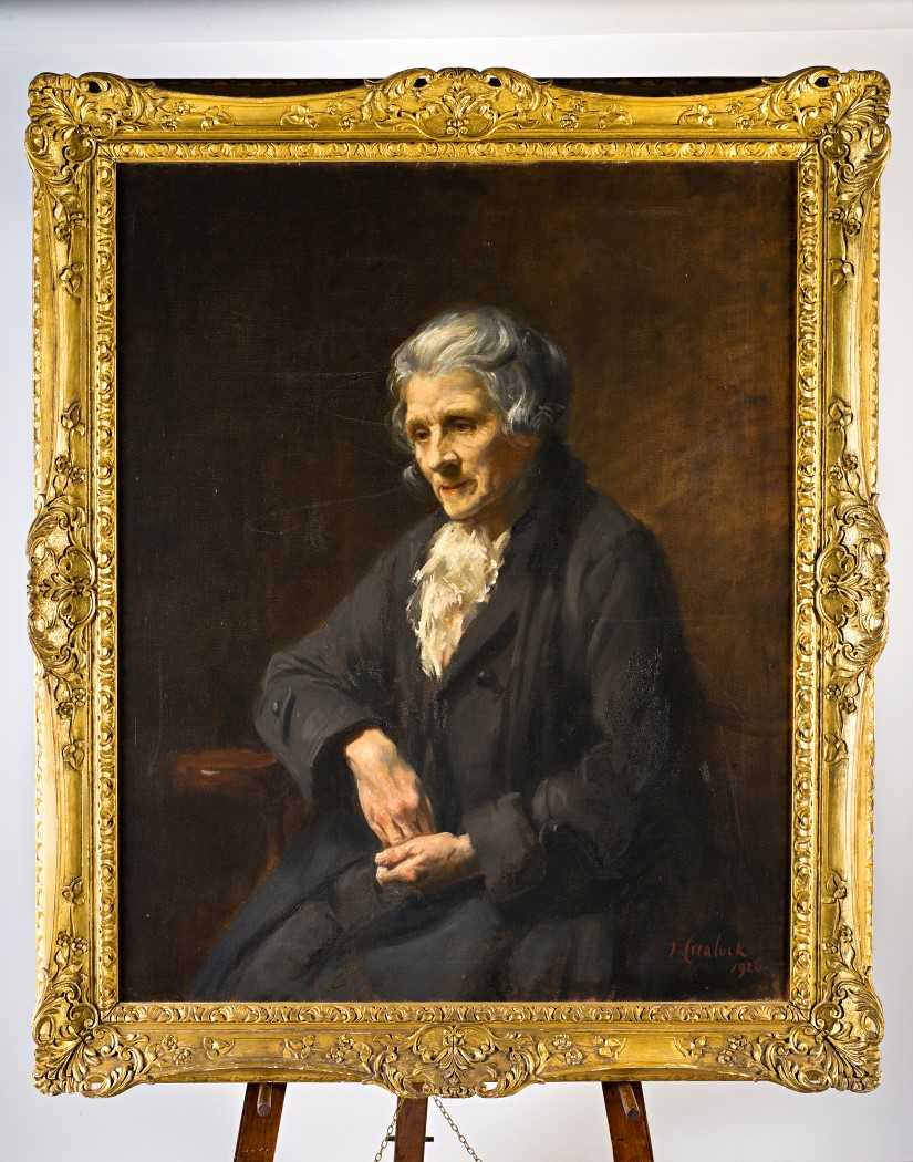 Portrait of an Old Lady, by John Mansfield Crealock (1871-1959).