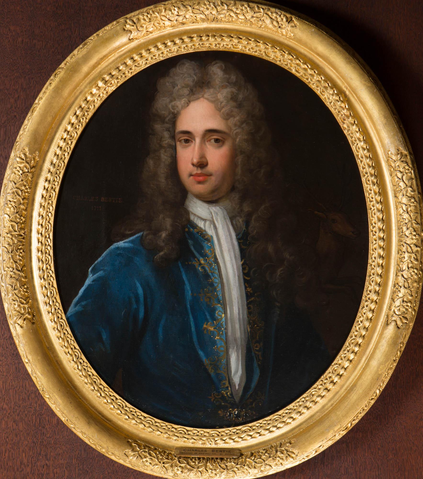 Portrait of Charles Bertie II (1674-1730), by Charles d'Agar (1669 – 1723).