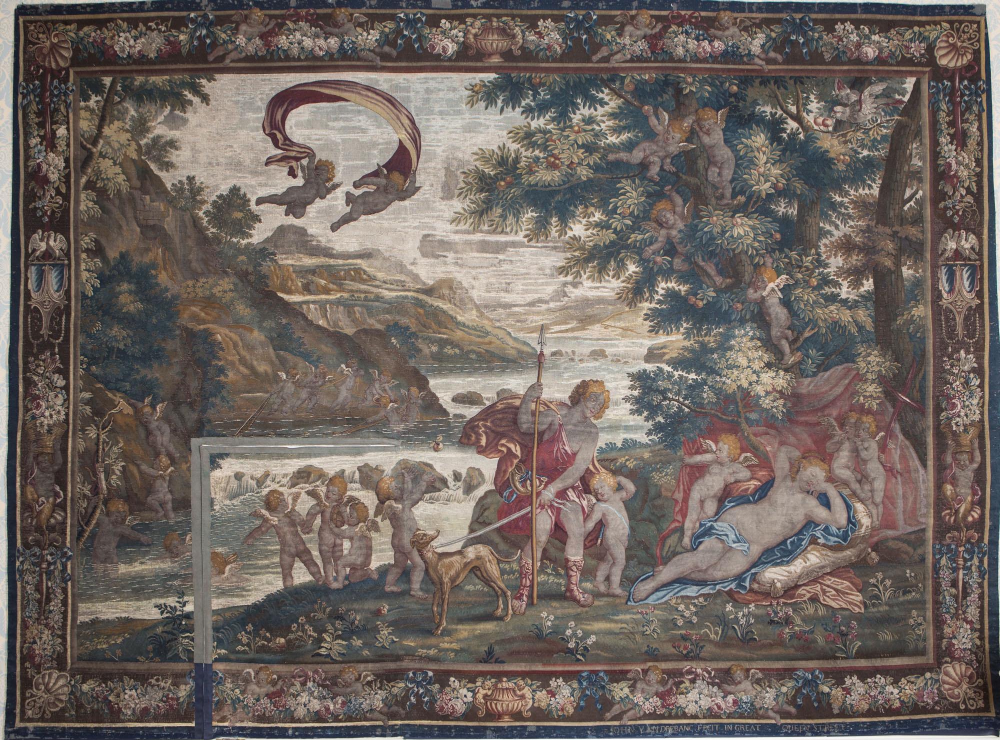 Adonis and the Sleeping Venus, John Vanderbank.