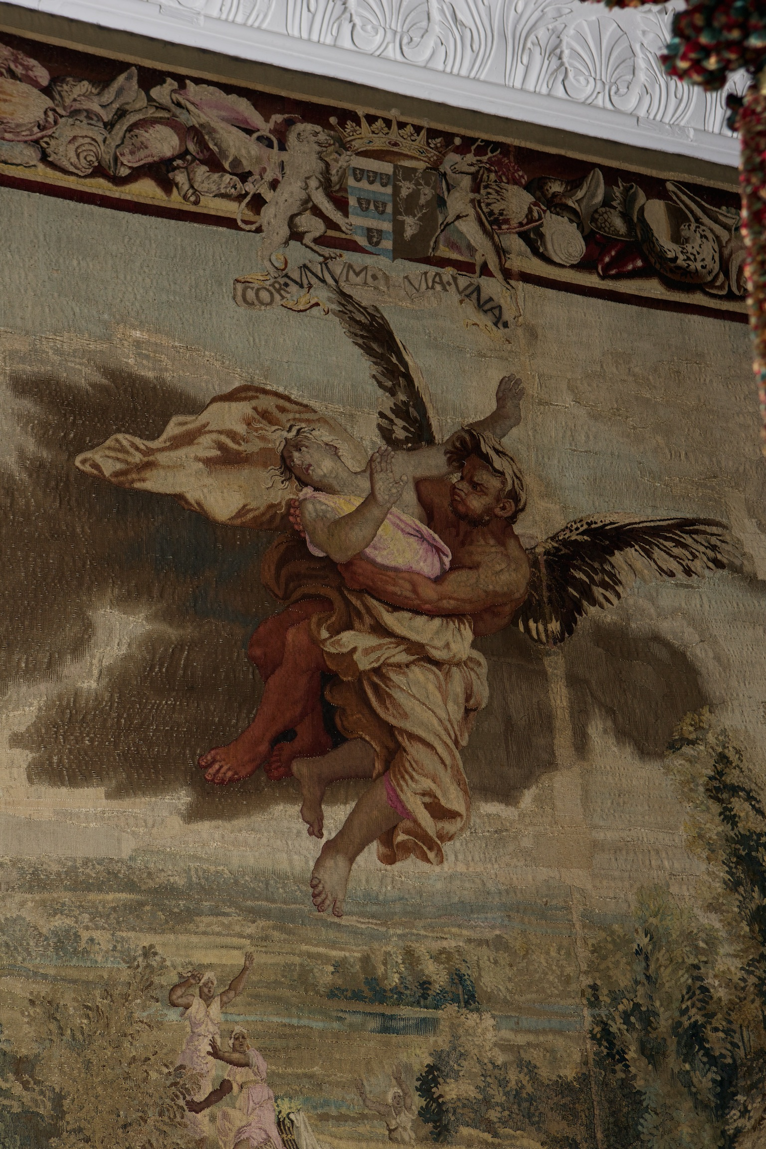 A Gobelins 'Metamorphoses' Tapestry, by Jan Jans the Younger, Paris, circa 1670.